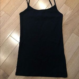 Simple black tank top from Forever 21